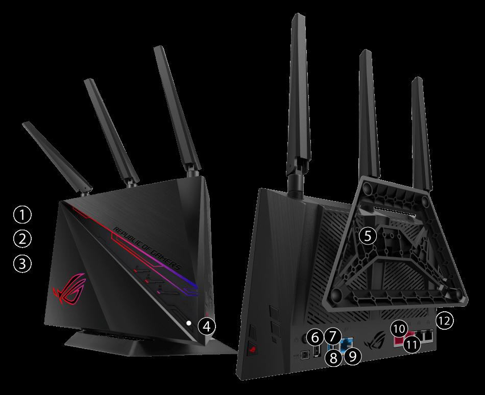 ROG Rapture GT-AC2900 | Gaming Networking | ASUS Global