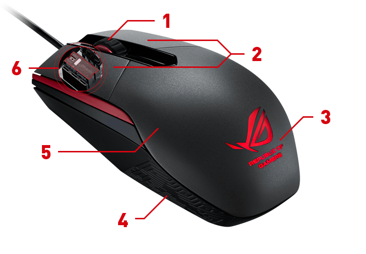how to make mouse button independant