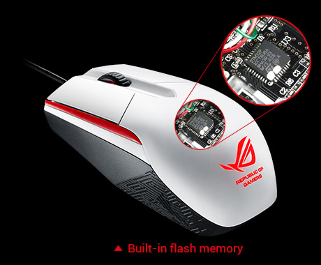 ROG Sica with Built-in flash memory