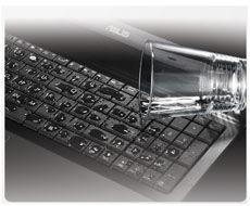 Водонепроникна клавіатура та дренажна система