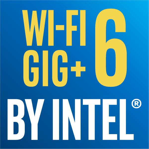 WI-FI GIG+ 6 BY INTEL