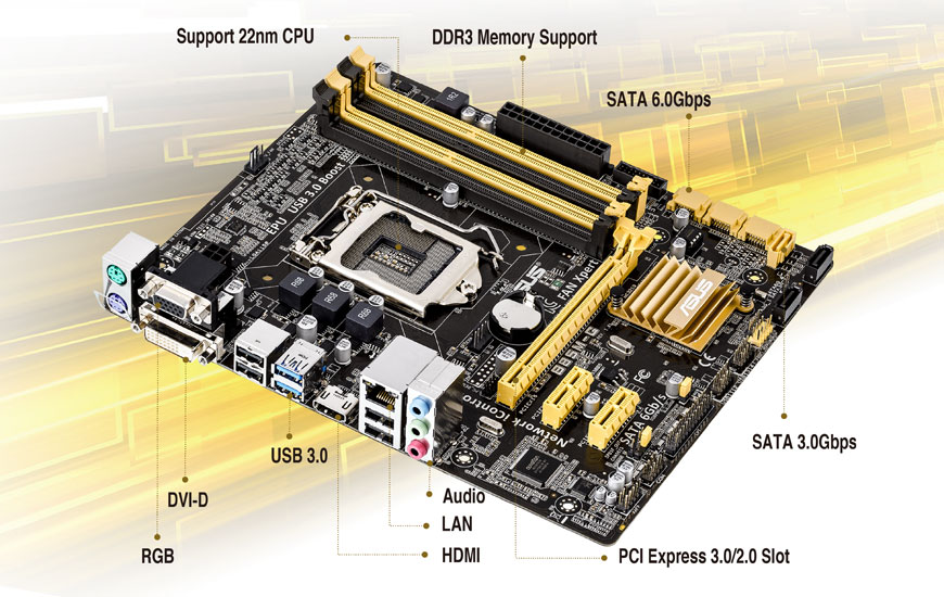 ASUS B85M-V PRO Drivers for Windows Mac