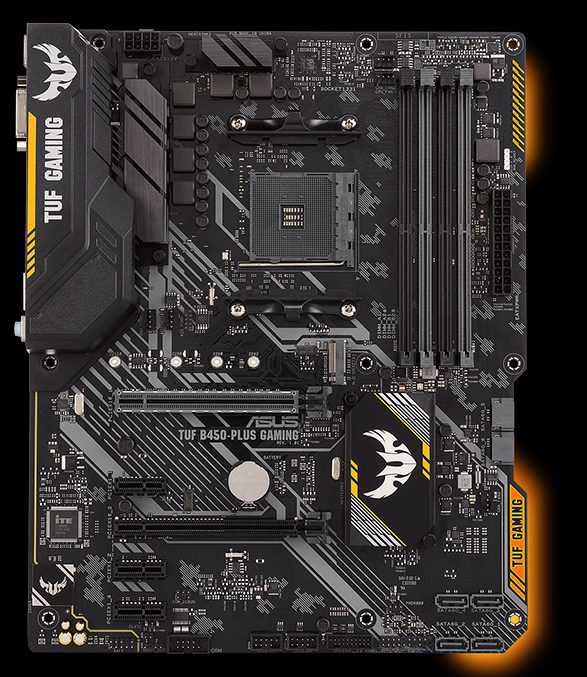 TUF B450-PLUS GAMING | Motherboards | ASUS USA