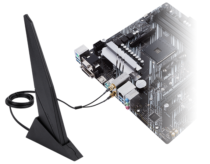 Prime B550M A with WIFI 3D
