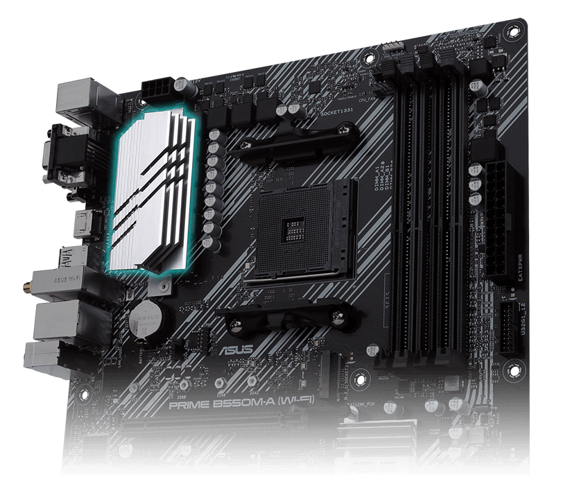 PRIME B550M-A (WI-FI) | Motherboards | ASUS Global