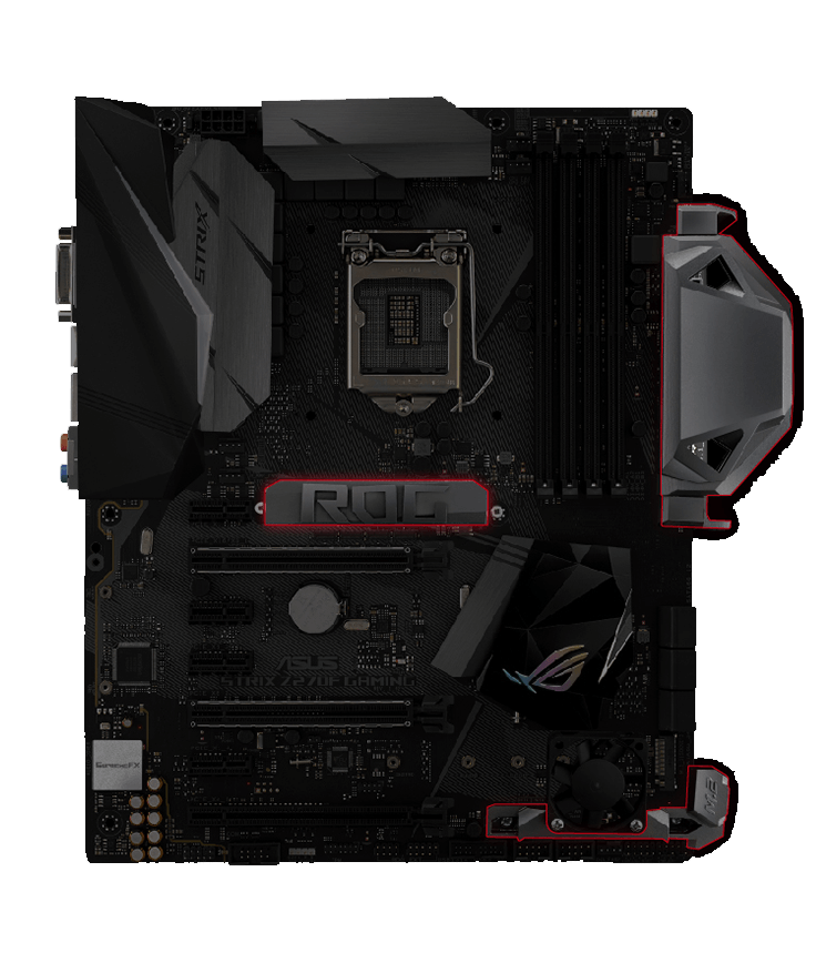 Asus Strix Z270F Gaming Carte m/ère Intel Socket 1151