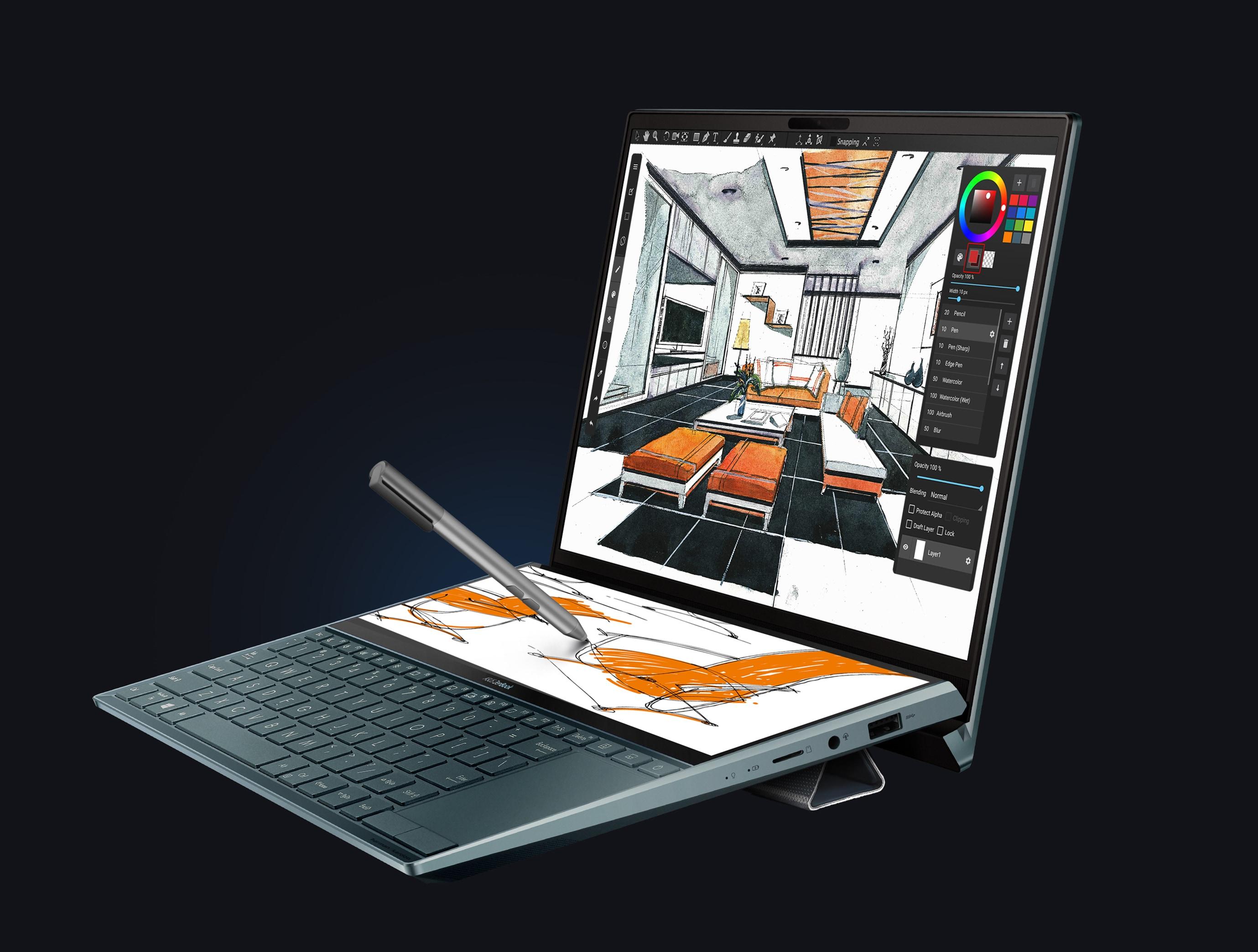 ScreenPad Plus