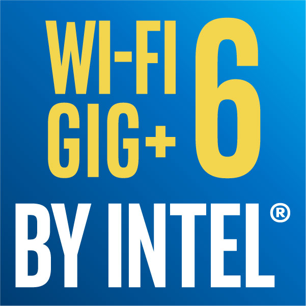 WI-FI GIG+ 6 BY INTEL