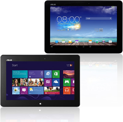 indows and Android tablets