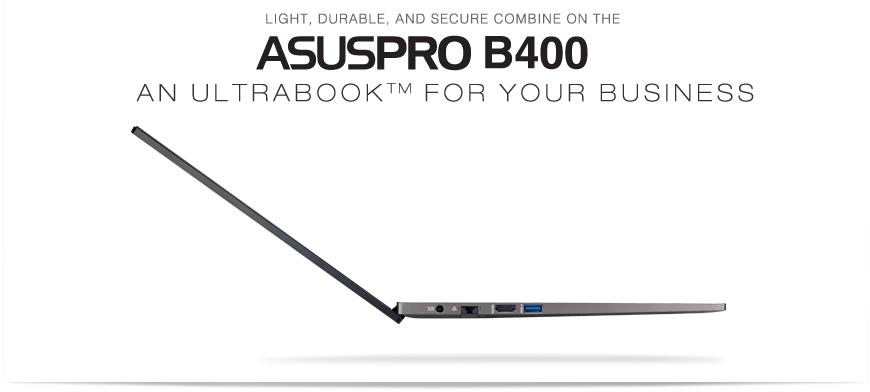 ASUSPRO B400 Ultrabook™