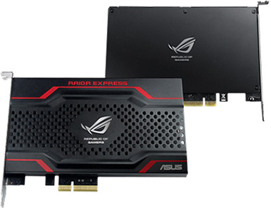 Double-sided metal shield with gorgeous ROG design