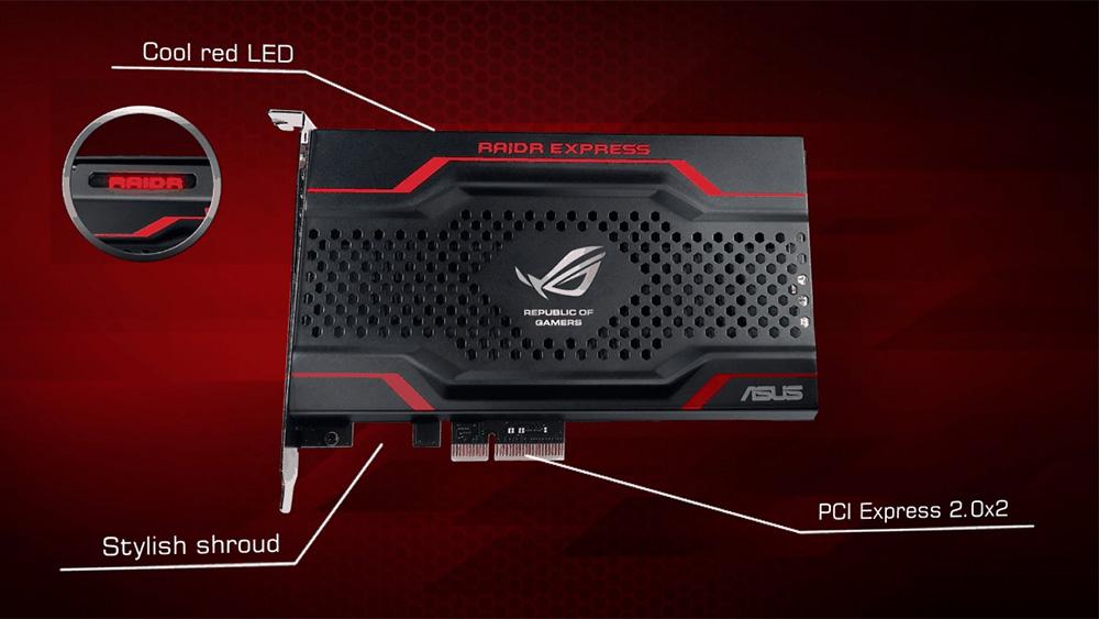 ASUS RAIDR Express PCIe SSD Marvell Driver