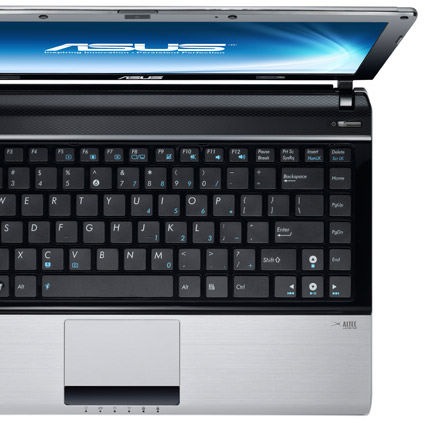 ASUS thin & light notebook U31 with uncompromising performance