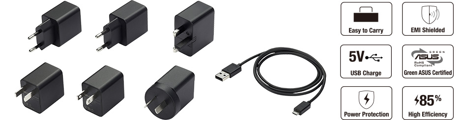 7W Adapter and Cable for Nexus 7 (2013)