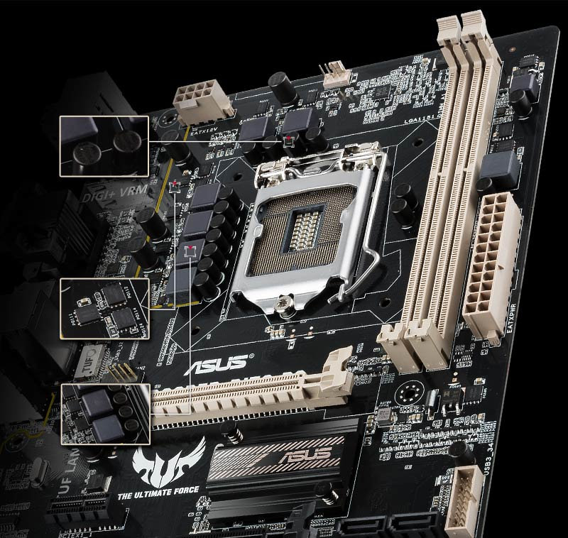 TROOPER B150 D3 | Motherboards | ASUS South Africa
