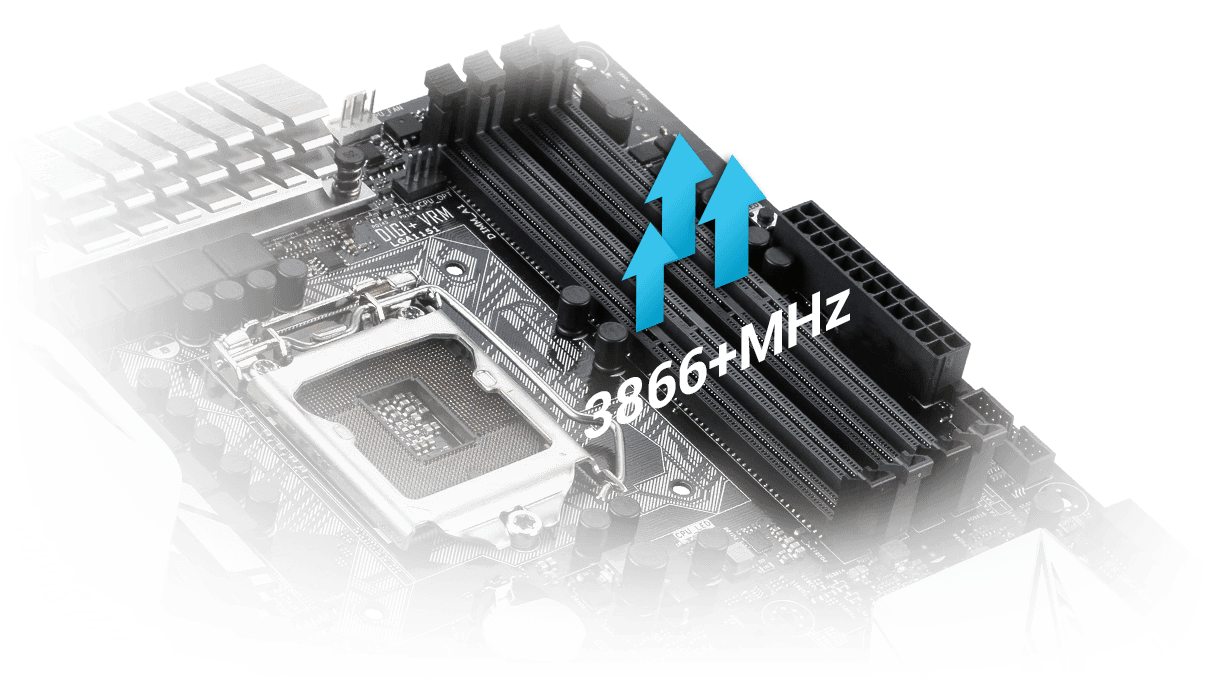 Z170 Pro Motherboards Asus Usa Custom Cpu Gpu Processing Unit Enhanced Circuit Board Design Featuring A Customized Trace Layout For Reduced Crosstalk And Coupling Noise Our Second Generation T Topology Ensures Time Aligned Signal Transfer