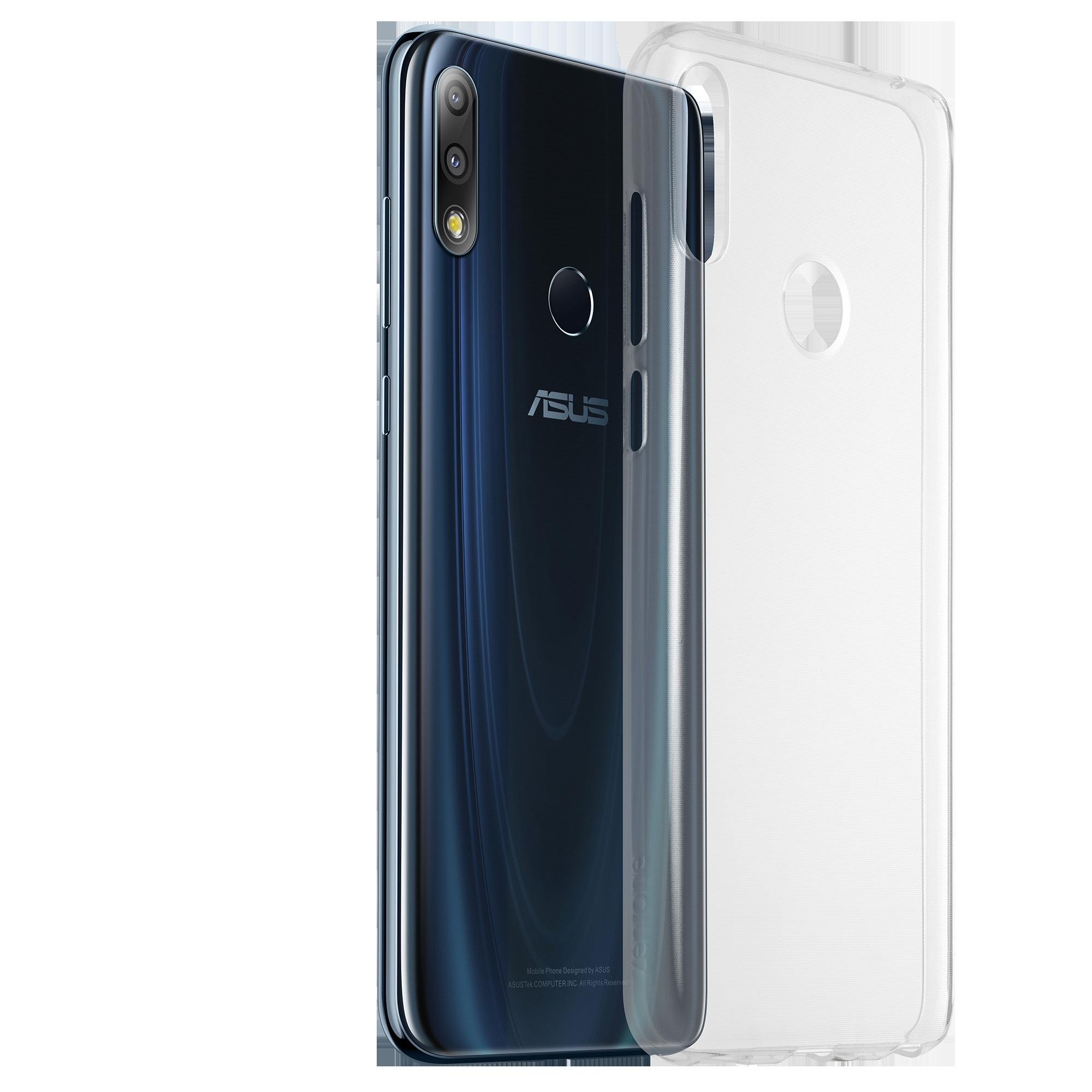 new concept 7151d 32495 ZenFone Max Pro (M2) Clear Soft Bumper (ZB631KL) | Phone ...