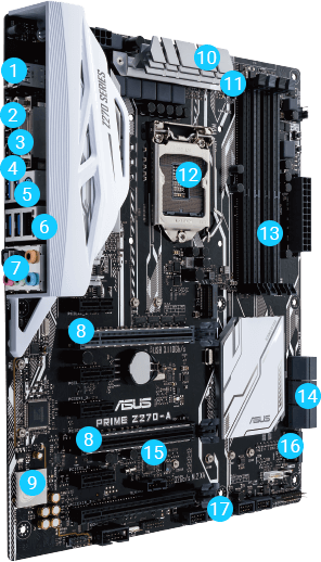 PRIME Z270-A | Motherboards | ASUS Canada