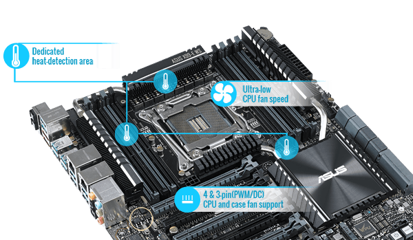 ASUS X99-E WS/USB 3.1 Motherboard