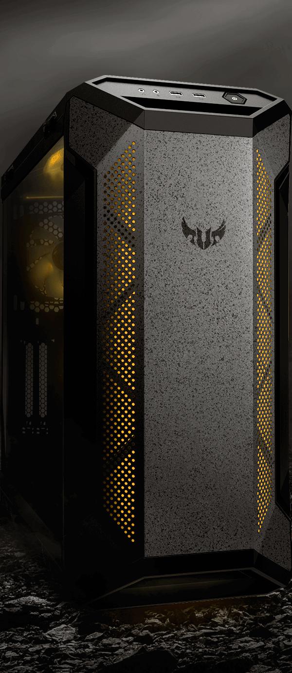 ASUS TUF Gaming GT501 Mid-Tower Gaming Case 4