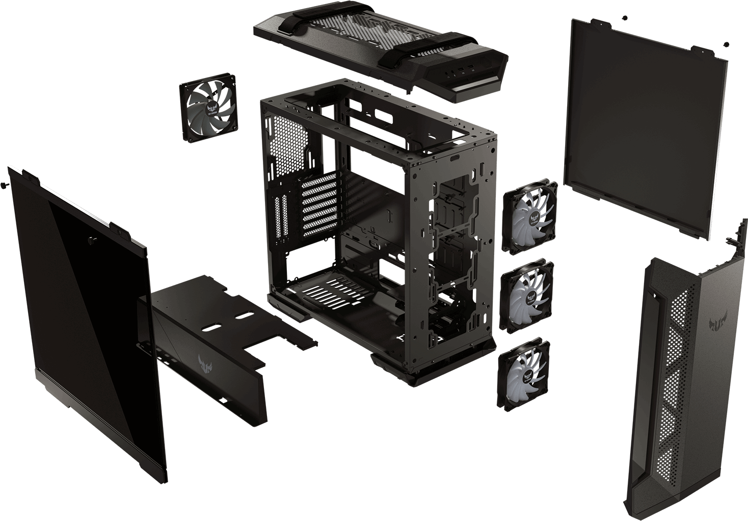 TUF Gaming GT501 Case   Chis   ASUS USA on