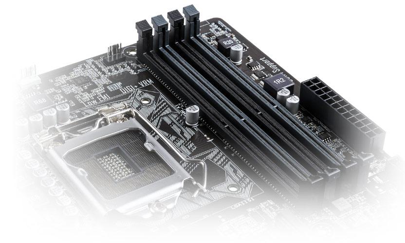 Asus Micro ATX DDR4 LGA 1151 Motherboard H110M-C//CSM