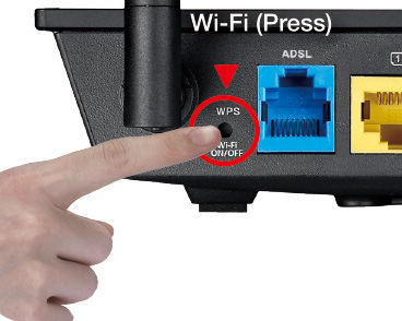 how to connect samsung to router with wps button