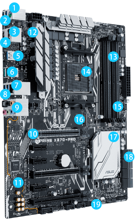 PRIME X370-PRO | Motherboards | ASUS USA