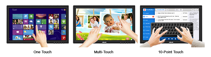 "ASUS VT207N 19.5"" Widescreen LCD 10-Point Touchscreen Monitor"