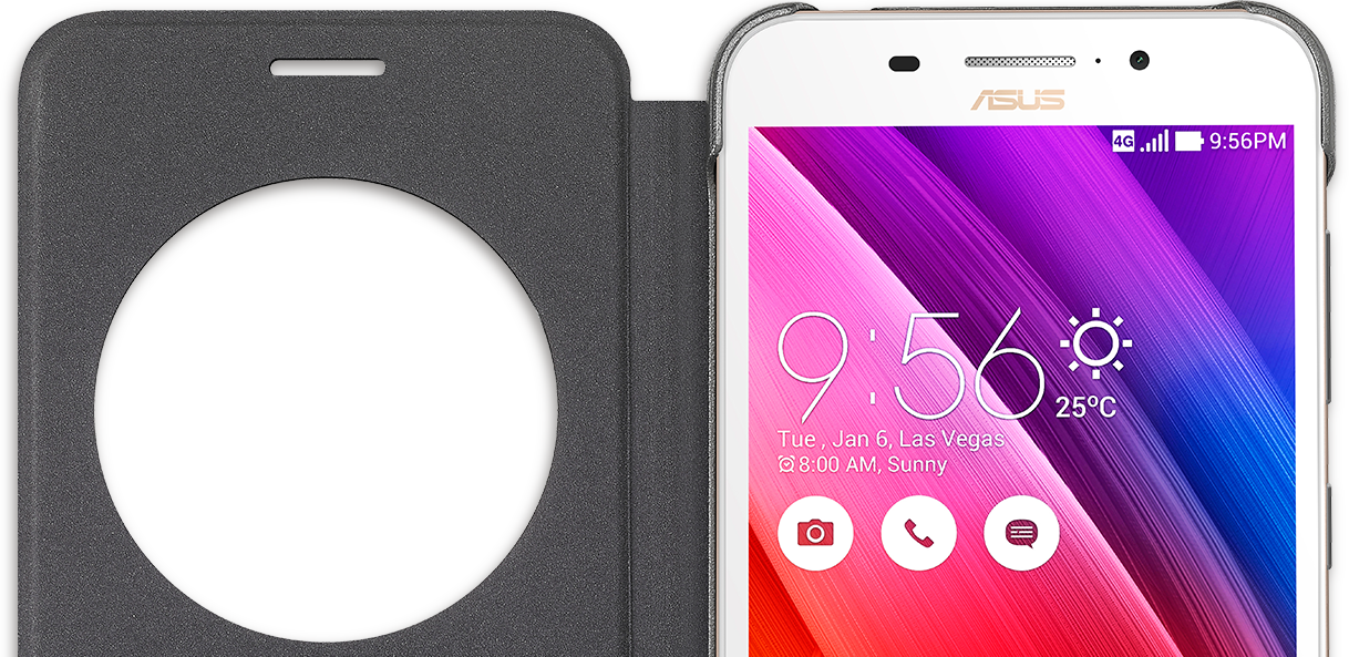 ZenFone Max View Flip Case (ZC550KL) | Phone Accessories | ASUS Global