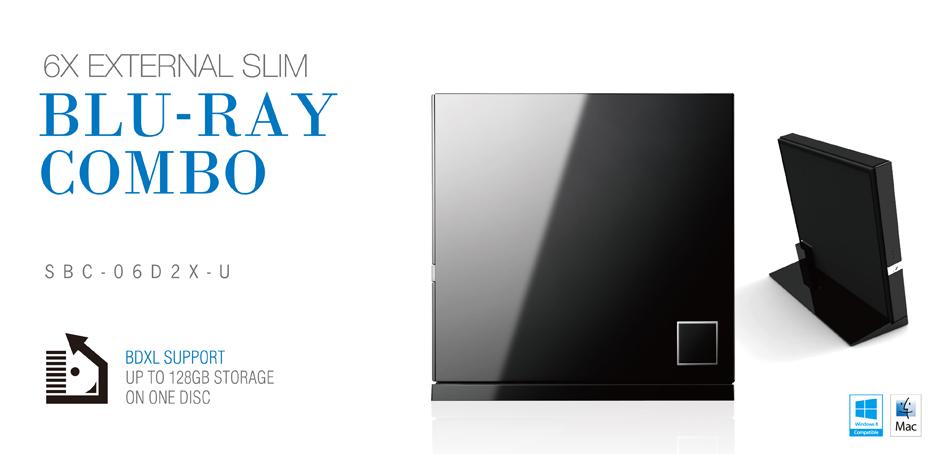 SBC-06D2X-U, BDXL Support - Better Disc Compatibility