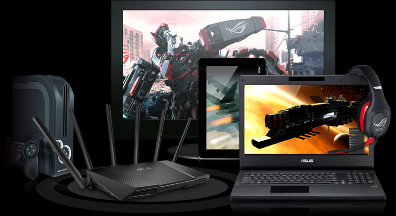 RT-AC3200 is tested for great compatibility with a vast range of wireless devices and even the latest-generation Xbox® One and PlayStation® 4 game consoles