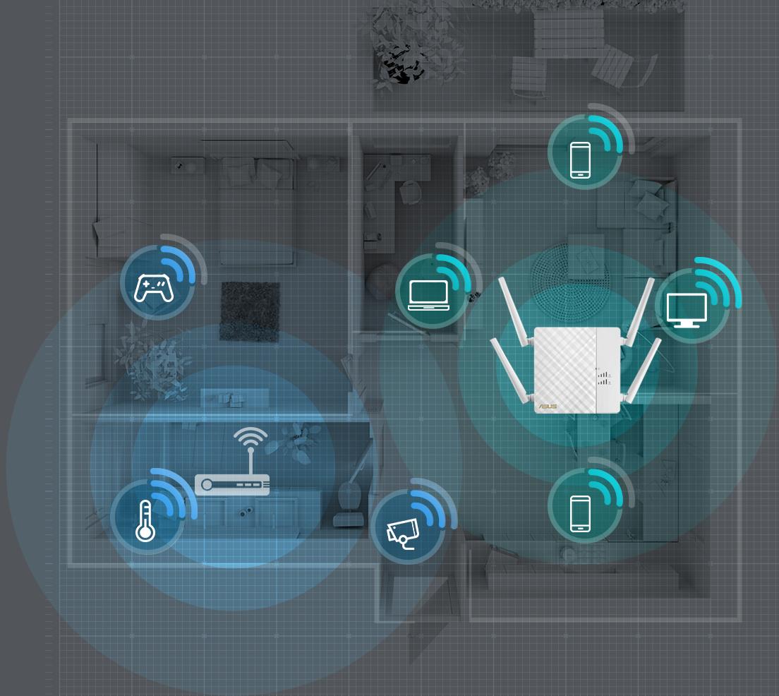 Le répéteur RP-AC87 vous aide à étendre votre couverture Wi-Fi jusqu'au moindre recoin de votre maison et ce quels que soient vos appareils !