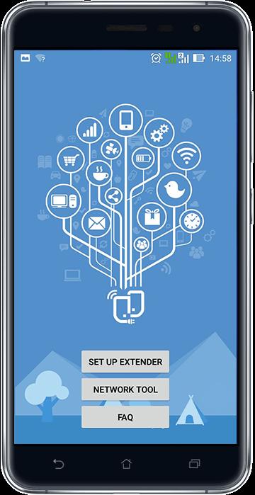 L'application ASUS Extender aide les utilisateurs à installer leur réseau domestique