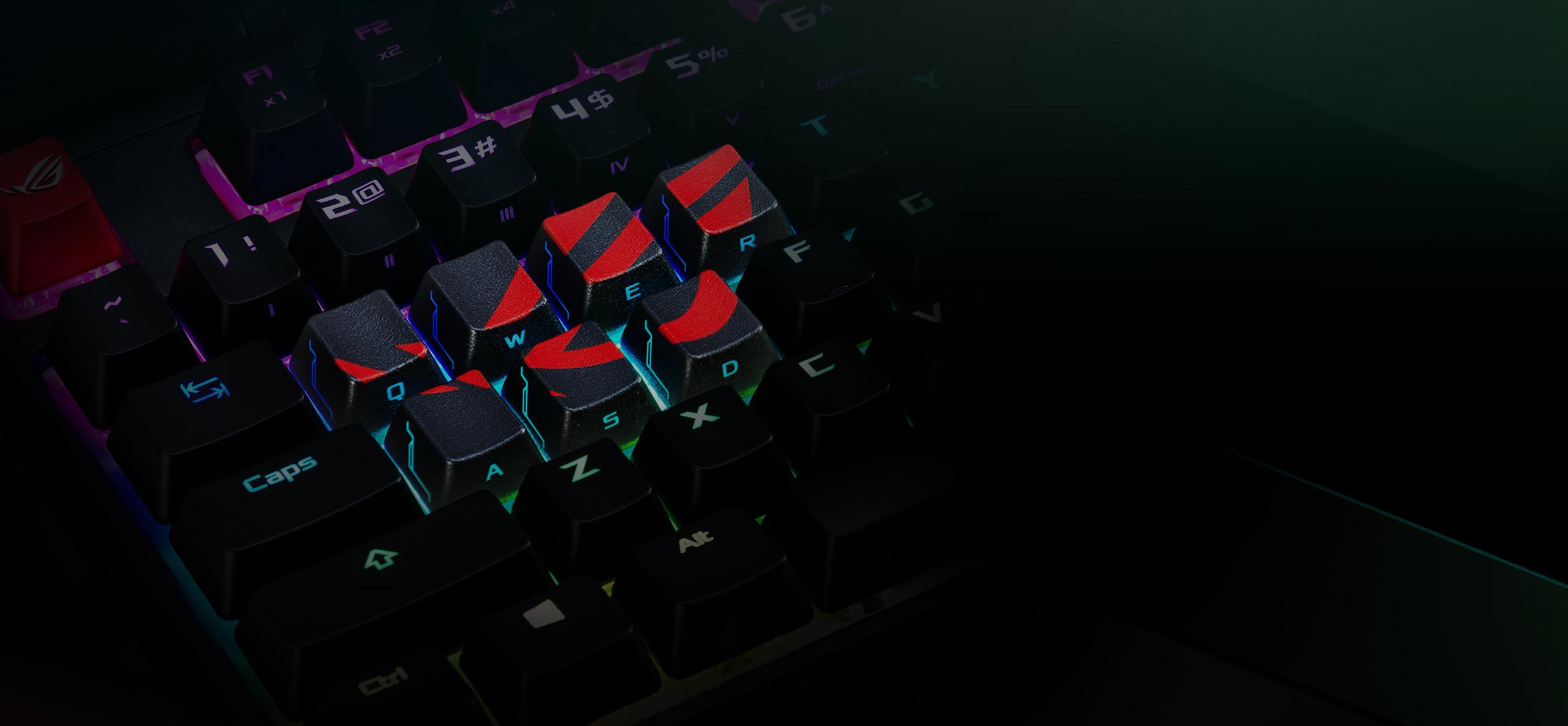 ASUS ORIGINAL ROG Gaming Keycap Set