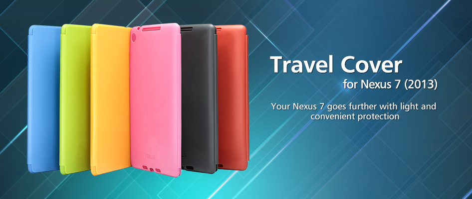 huge selection of f863f 7d6c4 Travel Cover for Nexus 7 (2013)   Tablet Accessories   ASUS Singapore