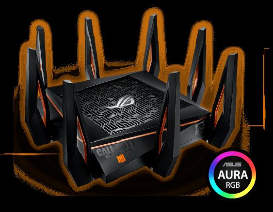 ROG Rapture GT-AX11000 Call of Duty Black Ops 4 Edition | Võrguseadmed |  ASUS Eesti