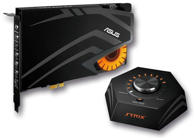 STRIX RAID DLX | Sound Cards | ASUS South Africa