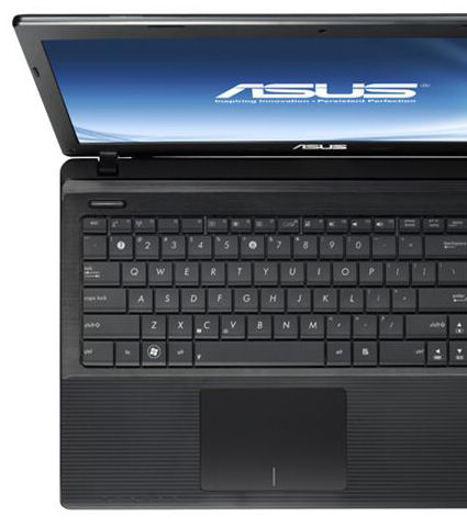 The ASUS X55 features several color choices to express your own style
