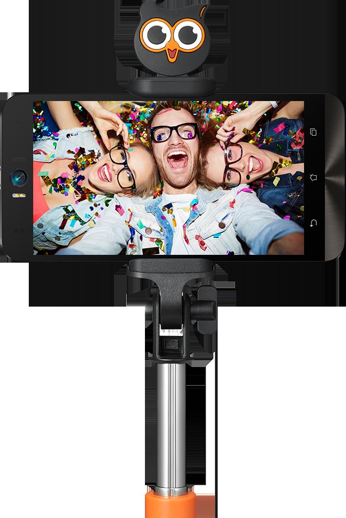 I M Zenny Bluetooth Selfie Stick Azyu002 Phone