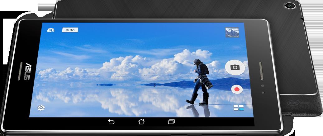 La fotocamera fino a 8 MP di ASUS ZenPad™ ti permette di catturare immagini eccellenti e senza attese.