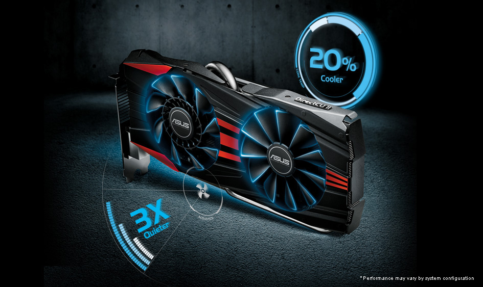 ASUS R9270X DC2T 4GD5 Graphics Cards