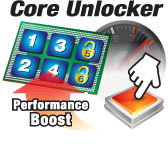 core unlocker pic ASUS M4A88TD V EVO/USB3 Xtreme Design Motherboard Review