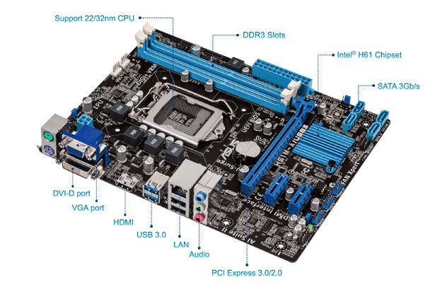ASUS H61M-A/USB3 Driver UPDATE