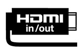 HDMI-in & out