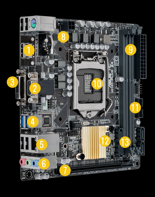 ASUS H110I-PLUS Intel Graphics Drivers PC
