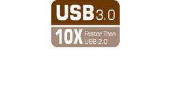 USB 3.0 - 10 Times Faster than USB 2.0