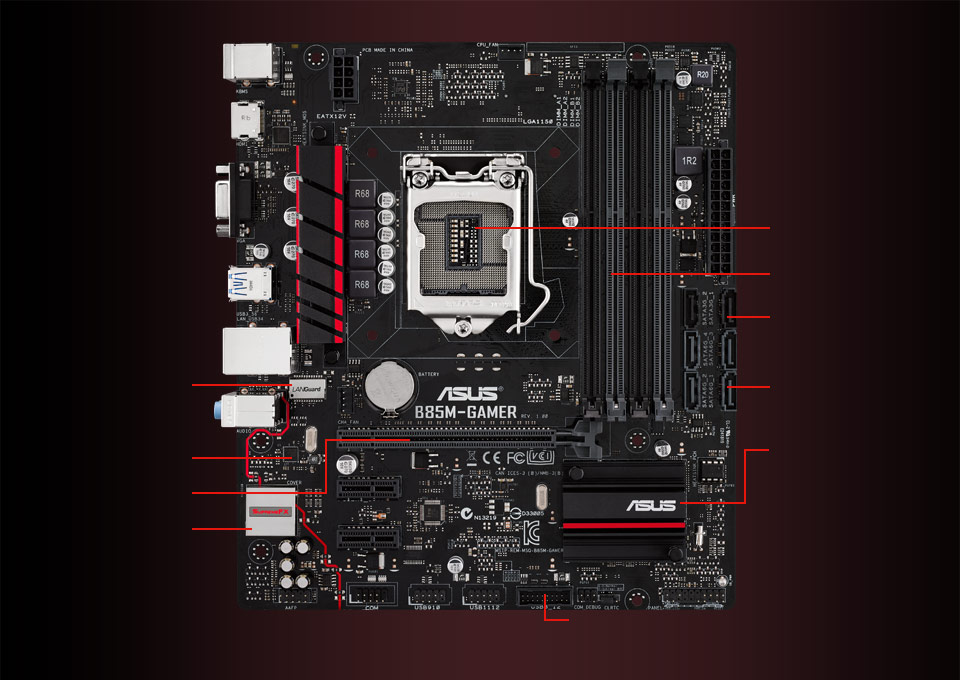ASUS B85-A Intel Graphics Last