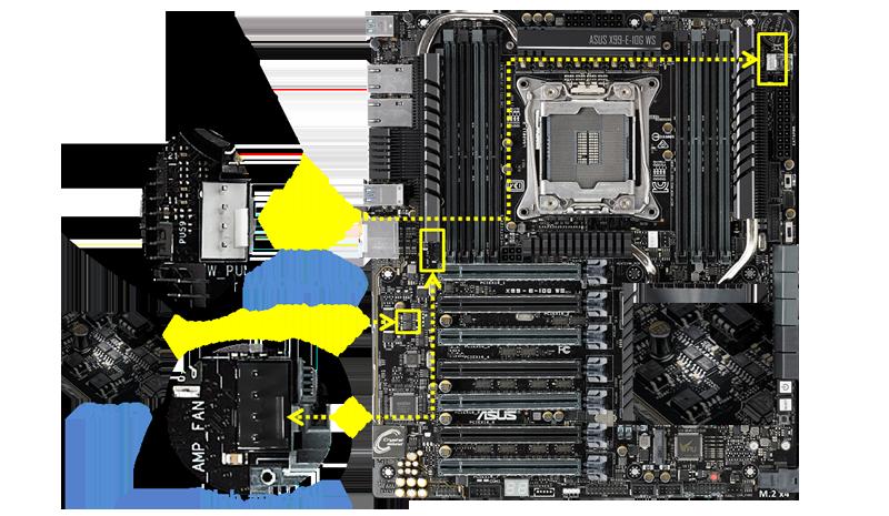 BIOS Chip ASUS X99-E-10G WS