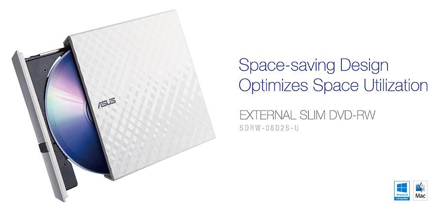 USB 2.0 External CD//DVD Drive for Asus U31jg-2arx